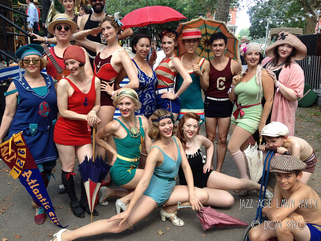 Jazz Age Lawn Party Aug. 2014